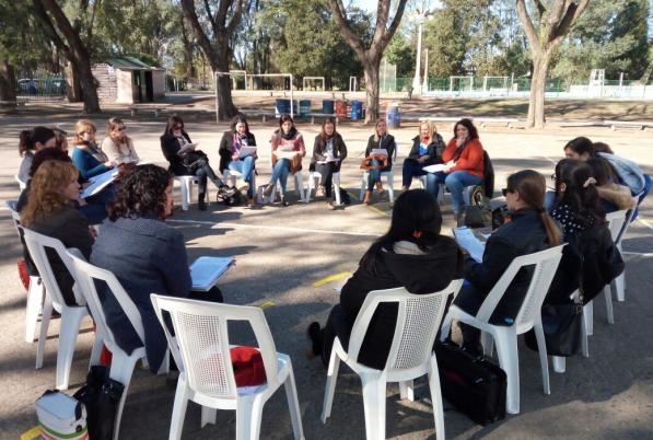 Tertulias Dialógicas Literarias en 1200 nuevas escuelas de Santa Fe (Argentina)