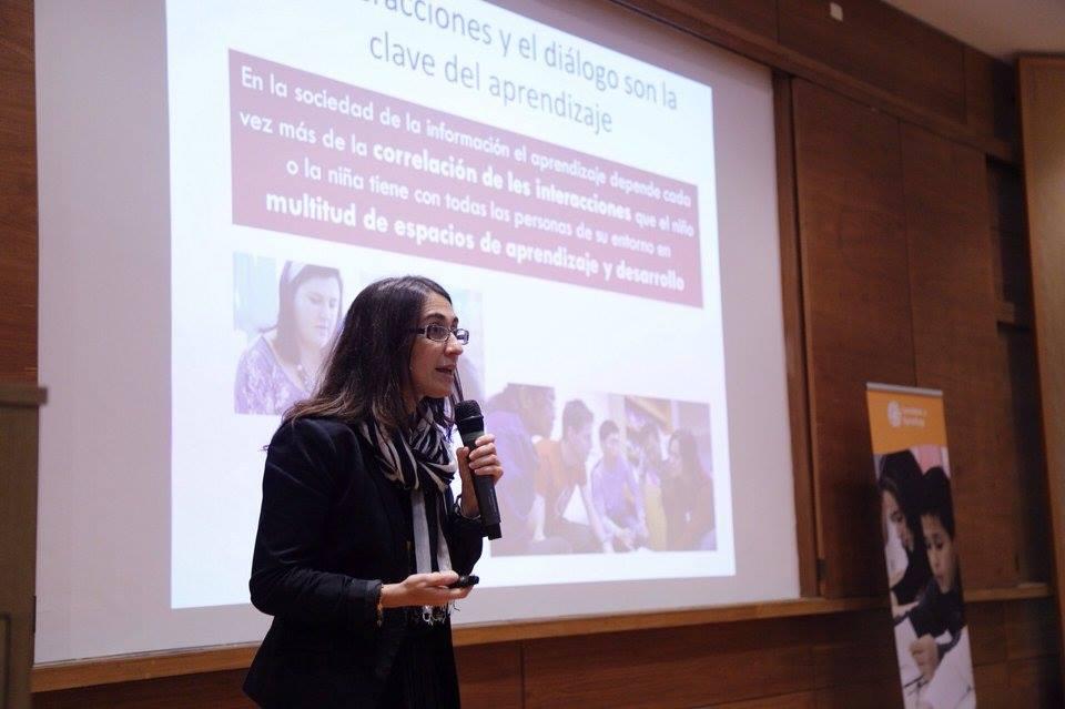 A espanhola Rocio Garcia Carrión fala sobre os benefícios das interações.
