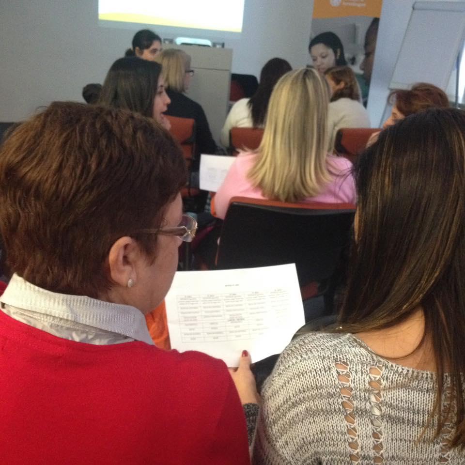 Na oficina ministrada por Renata Grinfeld, os grupos interativos na rotina.