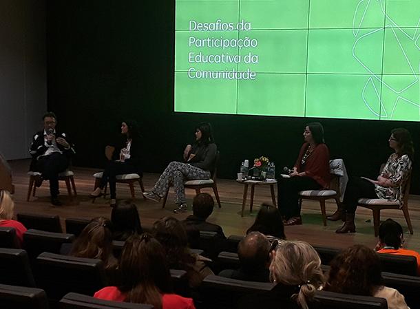 Mesa: Desafios da Participação Educativa da Comunidade
