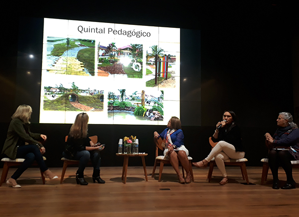 """""""Quintal Pedagógico"""" é um dos projetos do município de Benevides, Pará, que desenvolve CA na Educação Infantil"""